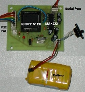 PSX pad / Serial port Interface